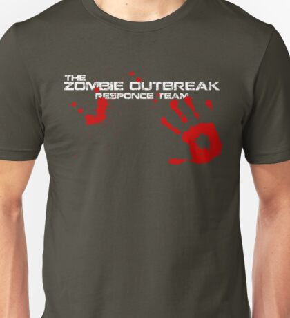 Zombie Outbreak Responce Unisex T-Shirt