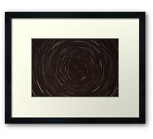 Circumpolar Startrails Framed Print