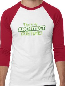 This is my Architect costume (for Halloween) Men's Baseball ¾ T-Shirt