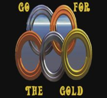 Go For The Gold..Olympic Tee by MaeBelle