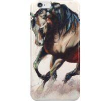 Wild stallion  iPhone Case/Skin