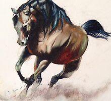 Wild stallion  by carlymill