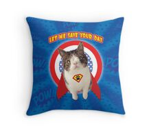 Let Me Save Your Day Throw Pillow
