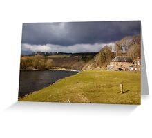 A Storm Brewing Greeting Card