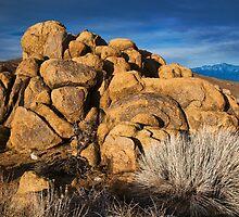 Buttermilk Boulders and White Peak by Nolan Nitschke