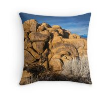 Buttermilk Boulders and White Peak Throw Pillow