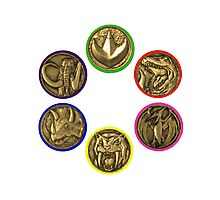 Power Coins Photographic Print