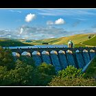 One of the Great dams in the Elan valley by MDSPhotoimages