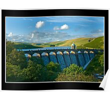 One of the Great dams in the Elan valley Poster