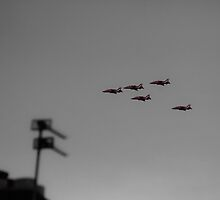 The Red Arrows by gymstedhead