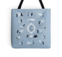 A Guide to Rare and Unusual Patronuses Tote Bag