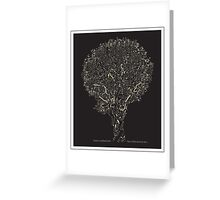 Confused tree Greeting Card
