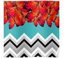 butterfly pattern  Poster