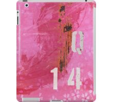 Trashed, scratched, rusted and dented - Q 14 Pink iPad Case/Skin