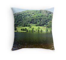 Grassmere, Lake District Throw Pillow