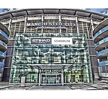 The etihad stadium Photographic Print