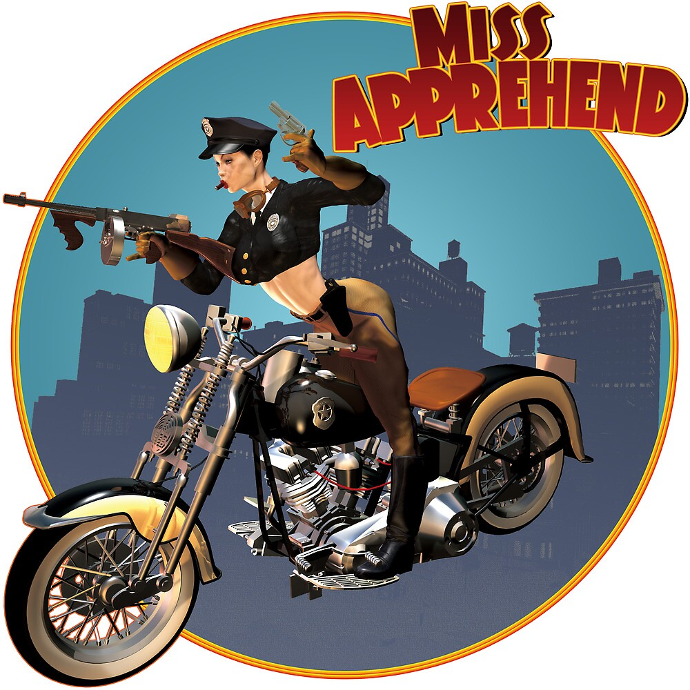 Miss Apprehend by CWR63