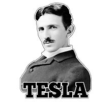 Tesla Photographic Print