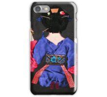 Geisha Asami (麻美) 1976  iPhone Case/Skin