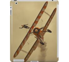 Brietling wing walkers iPad Case/Skin