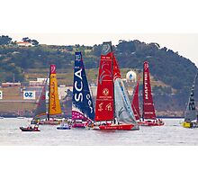 volvo ocean race. teams Photographic Print