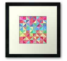 Rainbow Prisms Framed Print