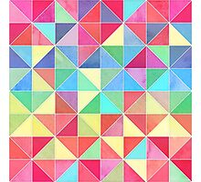 Rainbow Prisms Photographic Print
