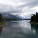 Maligne Lake by George Cousins