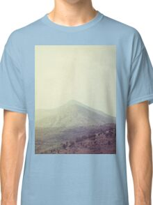 Mountains in the background III Classic T-Shirt