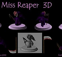 Little Miss Reaper 3D by Forefox
