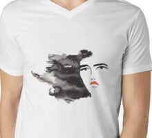 ink girl 3 Mens V-Neck T-Shirt