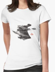 ink girl 3 Womens Fitted T-Shirt