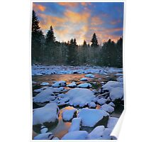 Snoqualmie River Poster