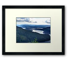 View From Saltspring Island Framed Print