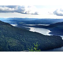 View From Saltspring Island Photographic Print