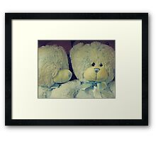 Let Me Tell You A Secret Framed Print