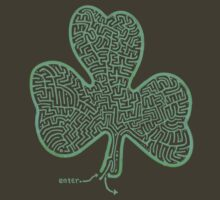 A-MAZe-thING Shamrock (read rules) by James Lewis Hamilton