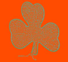 A-MAZe-thING Shamrock (read rules) Kids Clothes