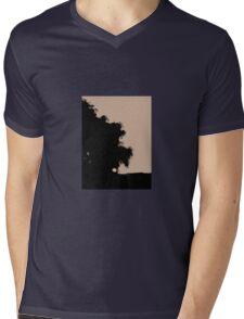 Midsummer Sunset Mens V-Neck T-Shirt