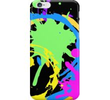 splashes of color iPhone Case/Skin