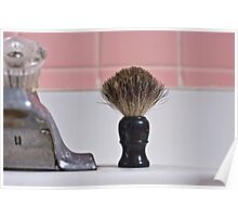 The shaving brush Poster
