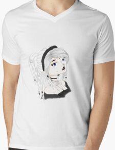 Dreadlock Girl Mens V-Neck T-Shirt
