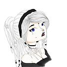Dreadlock Girl by SpottiClogg