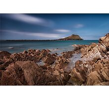 Worm's Head Rhossili Gower Photographic Print
