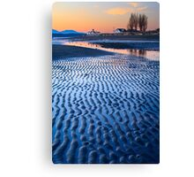 Discovery Low Tide Canvas Print