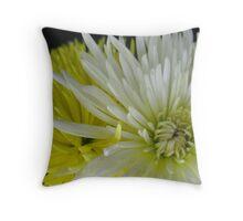 Egg Yolk Flower Throw Pillow