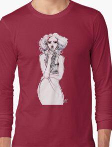 Fashion Illustration 1 Long Sleeve T-Shirt