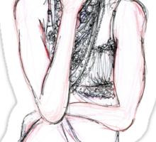 Fashion Illustration 1 Sticker