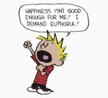 calvin demands euphoria Kids Clothes