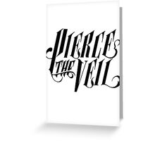 Pierce The Veil Greeting Card
